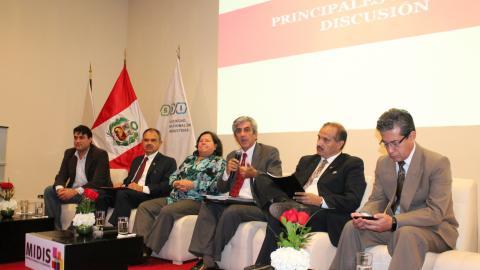 Mesa de Concertación participó en evento nacional por la primera infancia
