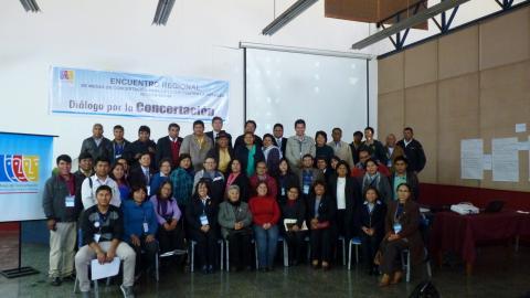 Encuentro Regional de Tacna reunió a representantes de Mesas provinciales y distritales