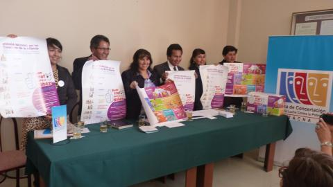 Lanzamiento de la Campaña Buen Trato para la Niñez en la Región Tacna