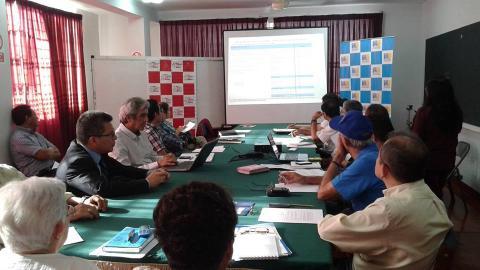 Reunión de Comité Ejecutivo Regional Piura con el Sr. Federico Arnillas Presidente Nacional de la Mesa de Concertación para la Lucha Contra la Pobreza