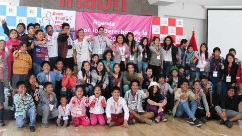 Niños, niñas y adolescentes participan en la formulación de la Agenda Nacional por la Infancia 2016-2021