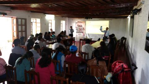 """Mesa de Concertación organiza el curso: """"políticas públicas para el desarrollo sostenible de la región de Apurímac, para fortalecer capacidades a consejeros y regidores regionales, con otras organizaciones."""
