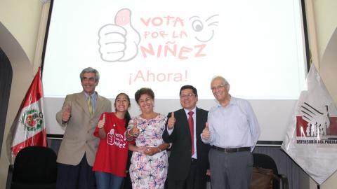 Ciudadanía e instituciones piden a candidatos comprometerse con derechos de la niñez
