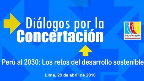 Presentarán Acuerdo de Gobernabilidad  para reducir la pobreza en el Perú al 2021