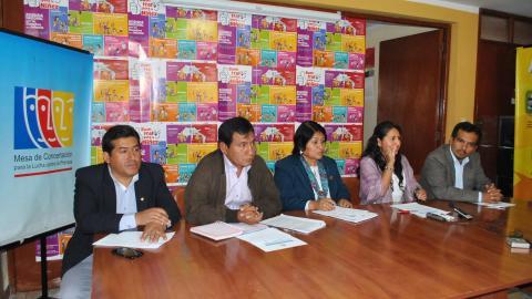 Congresistas electos por Ayacucho ratificaron su compromiso con la Agenda Regional