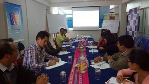 La MCLCP-Apurímac realiza la Reunión del Comité Ejecutivo del mes de Mayo