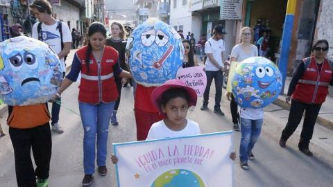 La MCLCP-Apurímac realiza marcha y foro para el día mundial de la tierra, el 22 de abril.