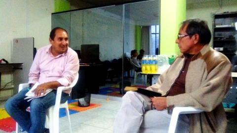 MCLCP-Apurímac realiza reunión con Richard Arce; Congresista electo por la región Apurímac.