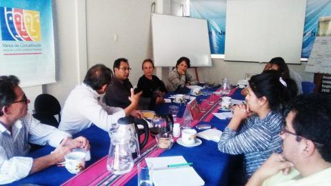 UNICEF Perú visita la MCLCP-Apurímac para analizar el trabajo realizado en los últimos 15 años en la región.