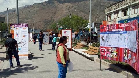 #NiUnaMenos: Campaña de concientización y sensibilización sobre la Violencia de  contra la mujer en Apurimac