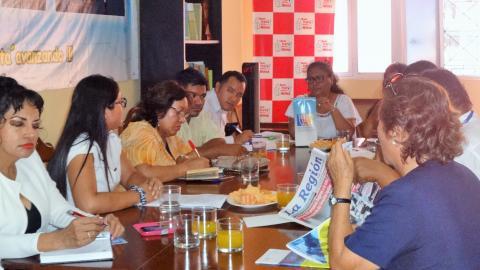 Comité Ejecutivo Regional de Loreto se reúne para Socializar Agenda Parlamentaria