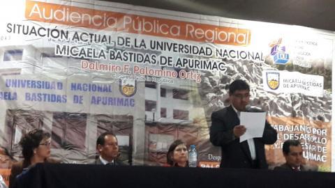 La MCLCP-Apurímac realiza veeduría y propicia concertación en el conflicto de la UNAMBA