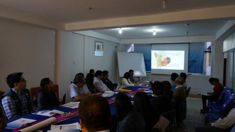 MCLCP-Apurímac Instala el Comité Ejecutivo Regional  2017