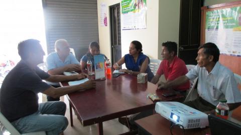 Reunión de coordinaciones para el inicio de acciones de veedurìa en el marco de la campaña Buen Inicio del año escolar