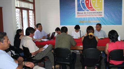 Mesa de Concertación y Gobierno Regional de San Martín asumen compromisos para la Veeduría del Buen Inicio del Año Escolar