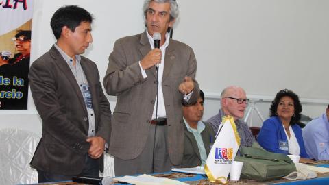 Designación de coordinador e instalación del Comité Ejecutivo Regional en Ayacucho