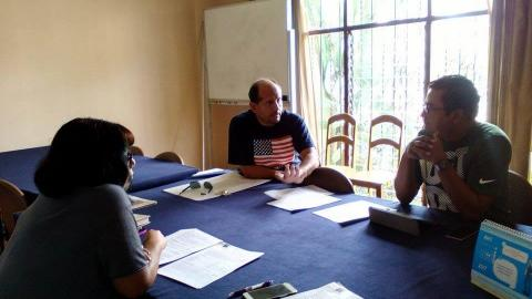 Reunión Coordinador Provincial de Camaná