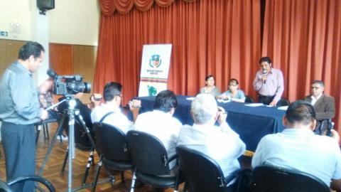 Conferencia de Prensa -Anuncian actividades por el Día Internacional de la Mujer