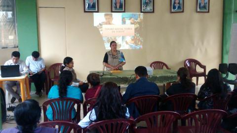 Comité Multisectorial Local se reúne en el marco al premio Logro Social del distrito de Amarilis - Huánuco