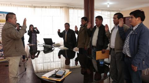 Creación de la reglamentación de la Mancomunidad Biregional del norte de Huancavelica y Sur de Huancayo