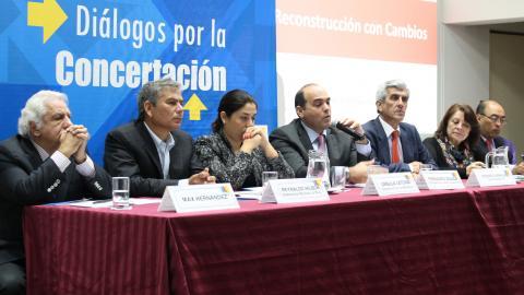 Diálogo por la Concertación: Escuchar la voz de las personas afectadas es clave para lograr un plan de reconstrucción sostenible