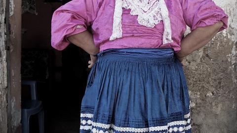 """MCLCP Apurímac traslada la exposición fotográfica """"mujeres fuertes - respetémoslas"""" al Gobierno Regional"""