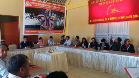 Primer encuentro regional para la constitución de la METRIDIS