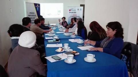 Funcionarios del Gobierno Regional de Lima presentan propuestas para la elaboración del Plan de Reconstrucción