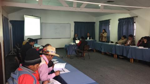 Diálogo con congresistas de la región en el marco del Acuerdo por el Cusco.