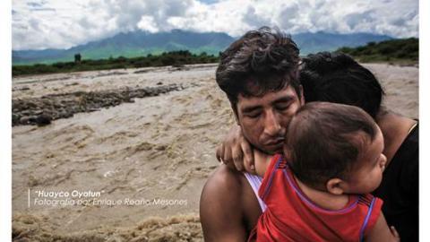 Muestra fotográfica sobre impactos de El Niño Costero en el norte