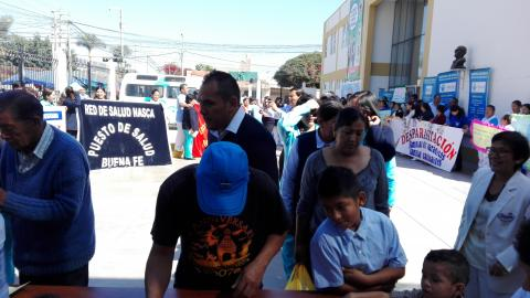 Lanzamiento de la Campaña de Desparasitación, Familias sin Parásitos, Familias Saludables.