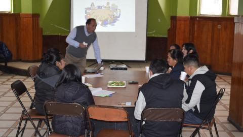 Conformación de Comité Ejecutivo Distrital en Huayllay de la MCLCP