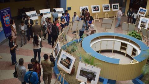 """Exposición fotográfica """"Nuestros Ojos: De la emergencia a la reconstrucción"""" en Piura hasta el 1 de setiembre"""