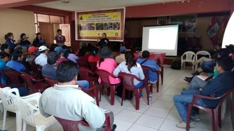 MCLCP- Apurímac, fortalece Mesa Multisectorial del Distrito de Turpo en la Provincia de Andahuaylas