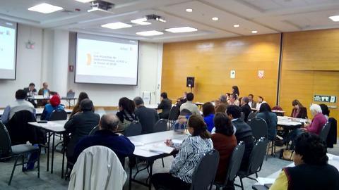 Mesa de Lima Metropolitana y CEPLAN en taller sobre acuerdos de gobernabilidad, brechas y visión 2030