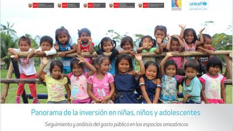 Análisis del gasto público en niñas, niños y adolescentes en espacios amazónicos evidencia las desigualdades de inversión entre poblaciones mestizas frente a las indígenas