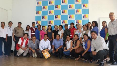 El CER de Madre de Dios ratifica a la Coordinación Regional de la MCLCP
