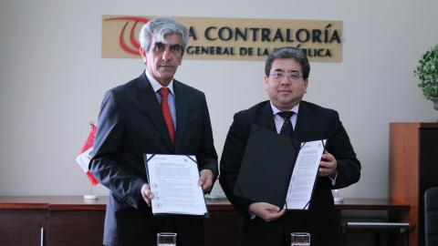 Contraloría y Mesa de Concertación para la Lucha contra la Pobreza promoverán participación ciudadana en la Reconstrucción con Cambios