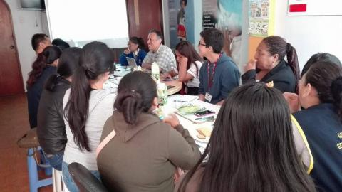 Participación en la Reunión de elaboración del Plan Regional del Consejo de Niños, Niñas y Adolescentes