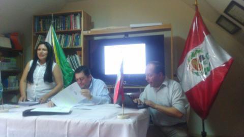 I Reunión del CED Villa Rica de la MCLCP - 2018