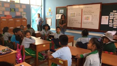 Veeduría al Buen Inicio del Año Escolar en la provincia de Ilo