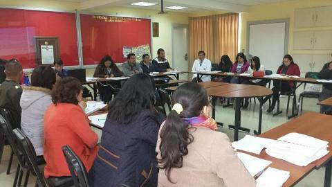 MCLCP Cusco participó en la primera reunión de planificación del Consejo Regional de Salud Cusco