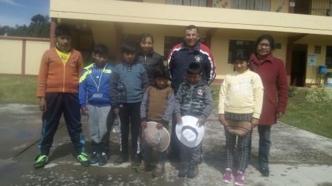 La MCLCP de Puno, realizó la veeduría de la Campaña Buen Inicio del Año Escolar –  Pahamaya, Yunguyo 2018.