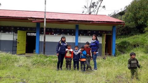 La MCLCP de Puno, realizó la veeduría de la Campaña Buen Inicio del Año Escolar – Asiento, Ollachea 2018.