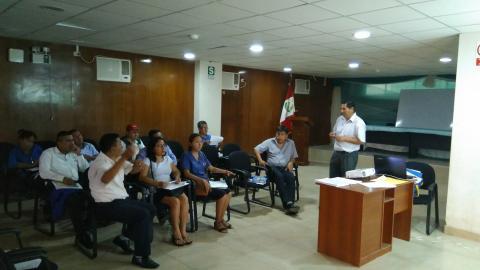 Mesa de la Provincia de Bagua aprueba el POA -2018 y ruta de trabajo los AG 2019-2022