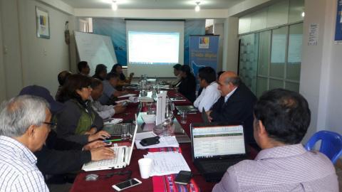 Comité de Gestión Regional Agraria de Apurímac formula actividades 2019