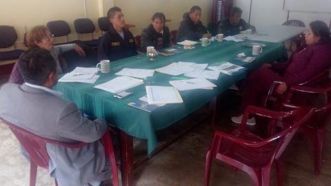 Comité Ejecutivo de la Provincia de Yauyos acordó articular acciones para promover la seguridad vial