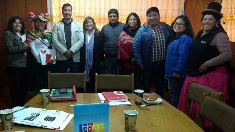 MCLCP participa en reunión con integrantes de Pro Inversión y dirigentes de organizaciones sociales de base