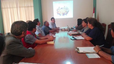 Instalarán la MCLCP del distrito de Majes en Caylloma