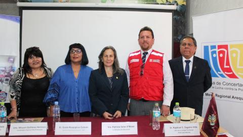 Mesa de Arequipa verificó condiciones de inicio de clases en 314 escuelas urbanas y rurales